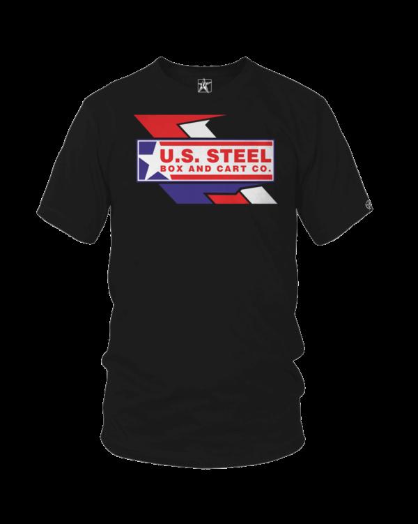 us steel logo black