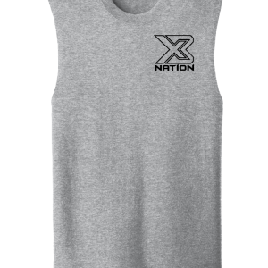 X3 Nation Cut Off T-shirt