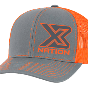 X3 Nation Grey Neon Hats