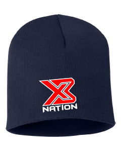 X3 NATION 3810 Skull Cap Beanie