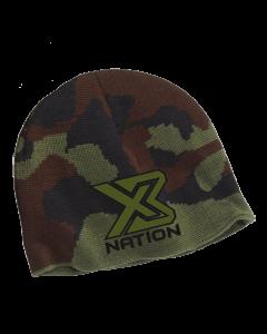X3 NATION 3820 CAMMO Skull Cap Beanie