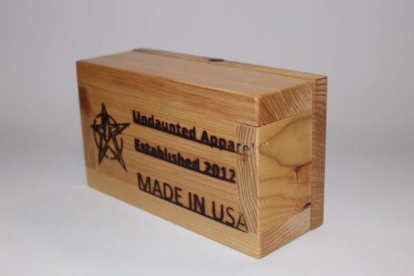 Undaunted Stainless Steel Shot Box Set