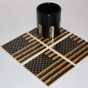 4x4 U.S. Flag Pledge Coasters