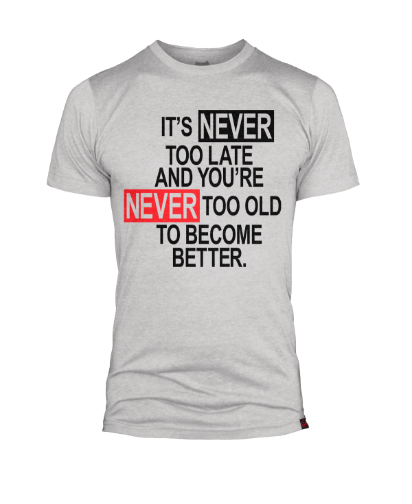 TJ Lavin's - It's Never Too Late