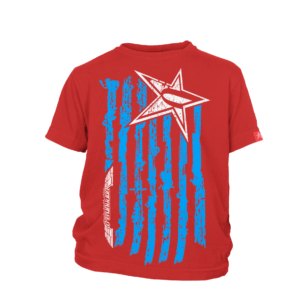 Kids Undaunted Flag Shirt