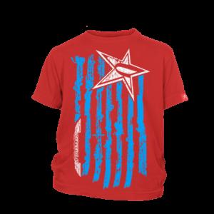 Kids Undaunted Flag Shirt