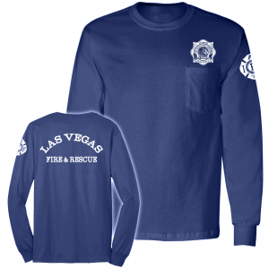 LVFD - UNION Long Sleeve Pocket Tshirt BAYSIDE