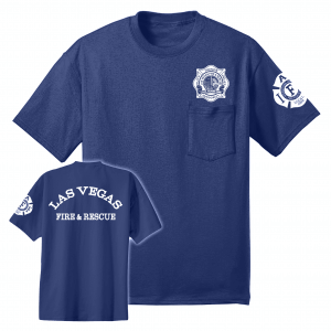 LVFD - Pocket Tshirt BAYSIDE