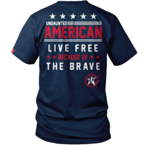 Undaunted Apparel's Live Free