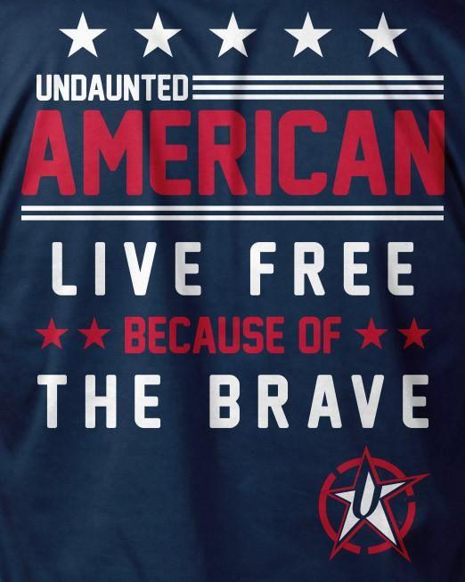 Undaunted Apparel's Live Free