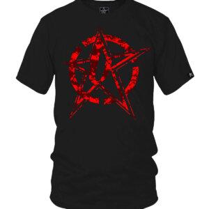 Undaunted Red Digital Cammo Star Bullseye
