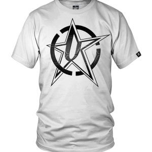 Undaunted Metal Star Bullseye