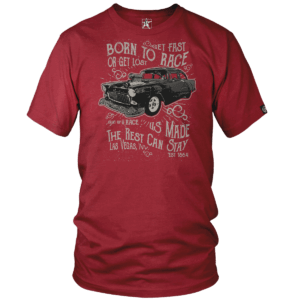 Undaunted Born To Race Tshirt