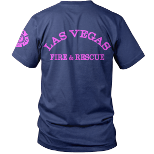 LVFD - Off Duty Breast Cancer Awareness T
