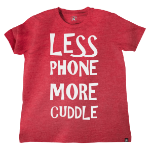 TJ Lavin's Less Phone More Cuddle Kids