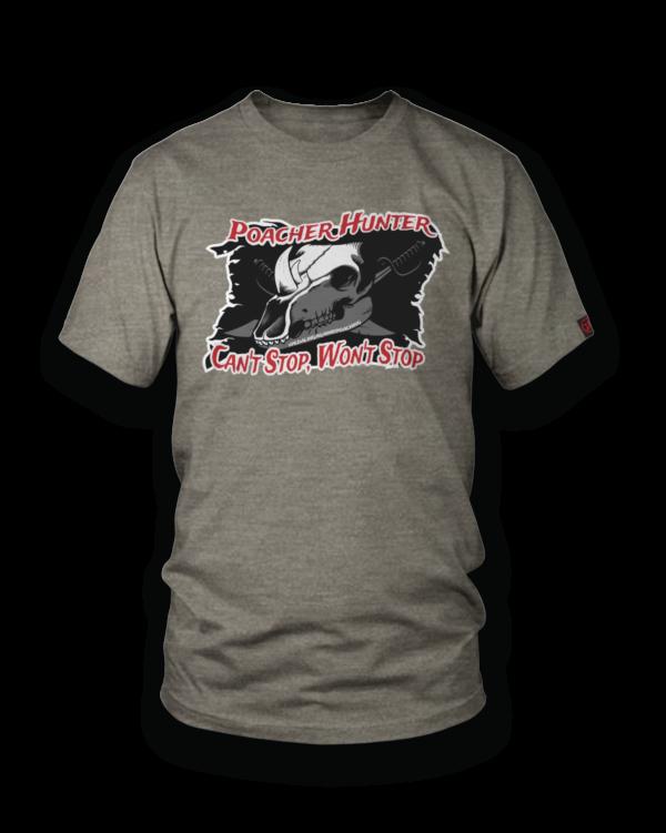 PEDALING AGAINST POACHING - Poacher Hunter Flag