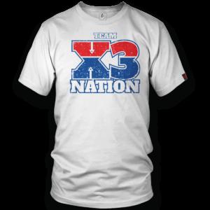 Vintage X3 Team T-Shirt