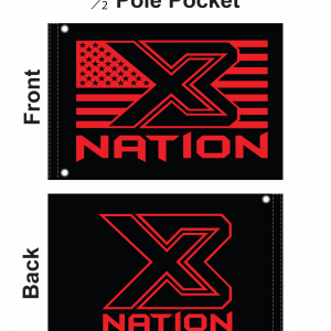 X3 Nation Whip Flags