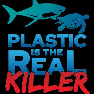 Ocean MVMT Plastic Is The Real Killer Tee
