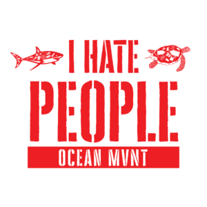 Ocean MVMT I Hate People Tee
