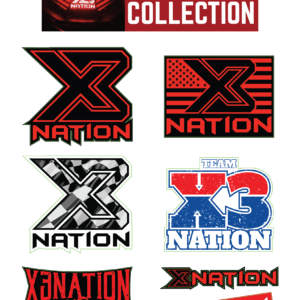 X3 Nation Sticker Pack