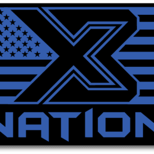 X3 Nation Flag Sticker