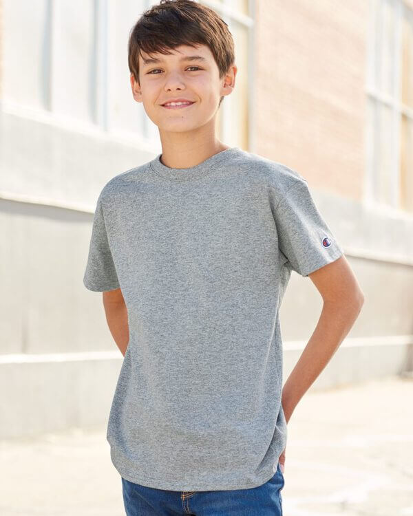 champion youth t435 tshirt