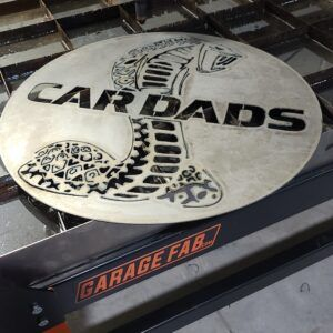 cardads metal wall art