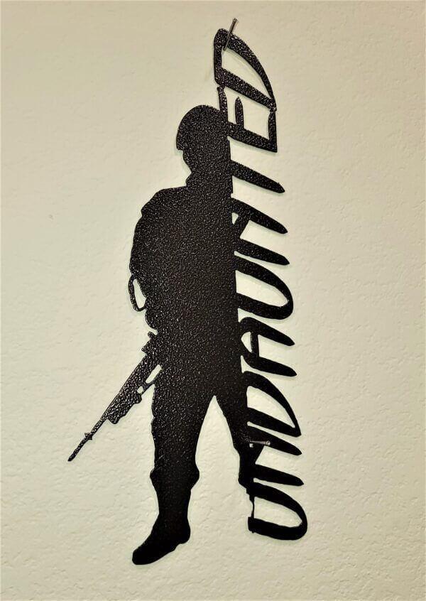 Undaunted Solider
