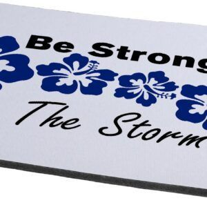 Tj Lavin Stronger than the storm no wire mouse pad