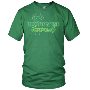 Undaunted St Paddys Day Tee