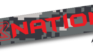 X3 Nation Logo Sticker