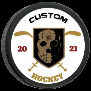 Custom Hockey Pucks by Undaunted