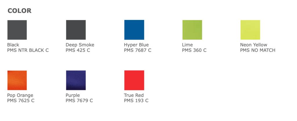 BG613 Colors